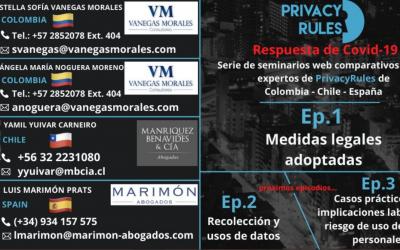 La Pandemia del Covid 19 exige pensar y actuar para proteger la privacidad. Video Conferencia Privacy Rules.