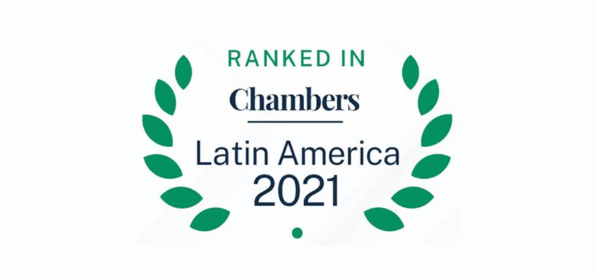 Vanegas Morales Consultores (VMC) y Stella Sofía Vanegas son destacadas en el Ranking Latinoamericano de Chambers & Partners en la categoría de Telecomunicaciones, Medios y Tecnología, capítulo Colombia